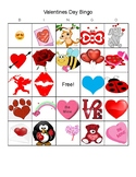 Valentines Day Bingo 8 cards good for center time