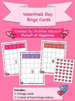 Valentine's Day - Bingo Cards