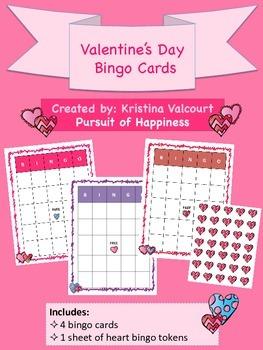 Valentine's Day - Bingo Cards