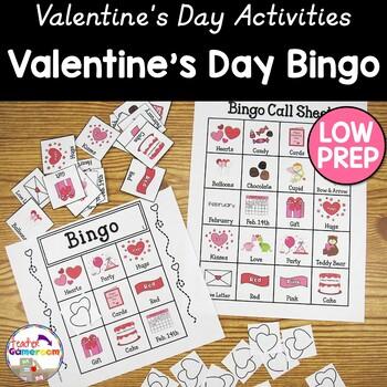 Valentine's Day Bingo Powerpoint Game Kit