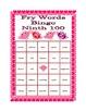Valentine's Day Bingo with Fry's Ninth 100 Words