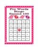 Valentine's Day Bingo with Fry's Second 100 Words
