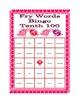 Valentine's Day Bingo with Fry's Tenth 100 Words