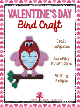Valentine's Day Bird Craft