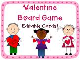 Valentine's Day Board Game {Editable!}
