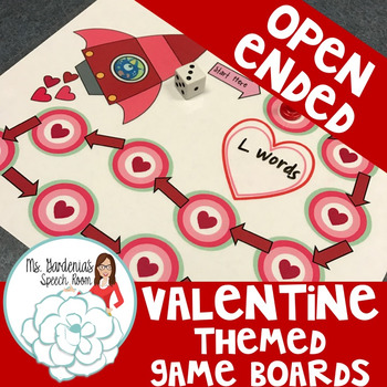 Open Ended Board Games: Valentine's Day