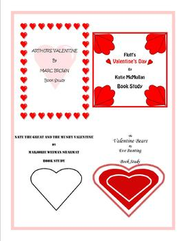 Valentine's Day Book Study Bundle