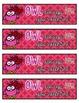 Valentine's Day Bookmark FREEBIE