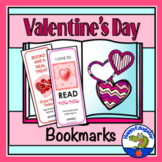 Valentine's Day Bookmarks - Set of 6