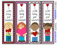 Valentine's Day Bookmarks - 4 Designs -2 sayings to choose from