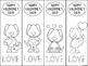 Valentine's Day Bookmarks - A Fun Freebie!