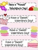 Valentine's Day Bookmarks--Freebie