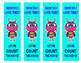 Valentine's Day Bookmarks - How Do I Love Thee? Let Me Count the Ways!