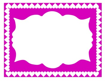 Valentine's Day Borders and Frames