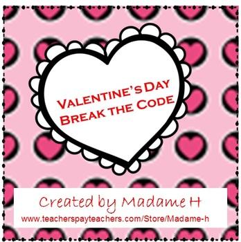 Valentine's Day Break the Code