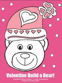 Build-a-Bear Valentine Bear!