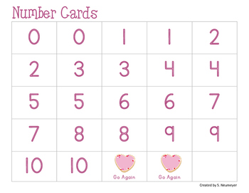 Math Fact Fluency: Valentine's Day Bump Games