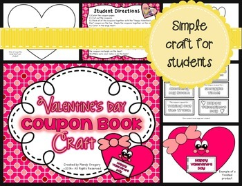 Valentine's Day Bundle: Graphing, Letter Writing, and Craft