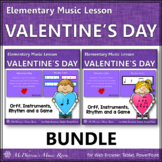 Valentine's Day Music: Valentine's Day Orff, Rhythm & Instruments {Bundle}