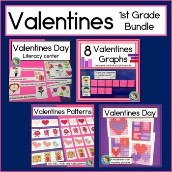 Valentines Day Bundle for First Grade