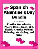 Spanish Valentine's Day Bundle - 15 Items, 73 Pages - El Dia de San Valentin