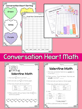 Valentine's Day Literacy and Math Bundle