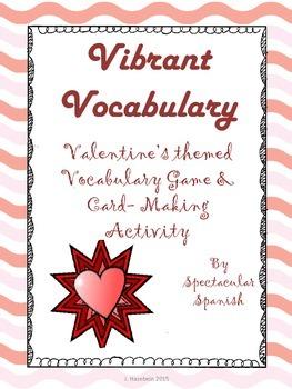 Valentine's Day CI Vocabulary Game + Activities