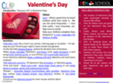 Valentine's Day CLIP (Creative Learning in a Pinch)