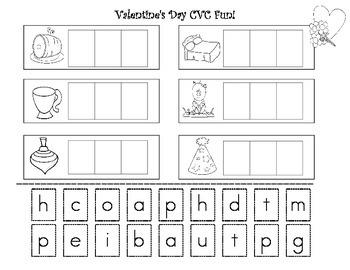 Cvc Words Worksheet For Kindergarten Worksheets for all | Download ...