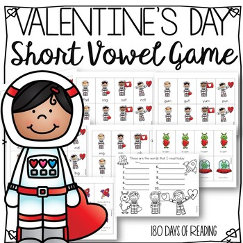 Valentines Day CVC Game