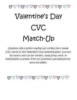 Valentine's Day CVC Match-Up