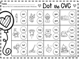 Valentine's Day CVC Word Work Pack