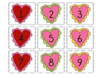 Valentine's Day Calendar Dates