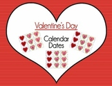 Valentine's Day Calendar Dates