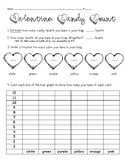 Valentine's Day Candy Heart Activity 3rd-4th (or older!)
