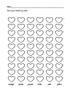 Valentine's Day: Candy Heart Graphing