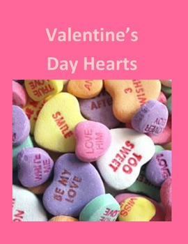 Valentine's Day Candy Hearts – As a Handout or For Microsoft Word