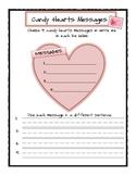 Valentine's Day Candy Hearts Mini Unit