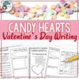 Valentine's Day Writing - Conversation / Candy Heart Activity