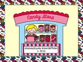 Valentine's Day Candy Store - Addition and Subtraction with Money