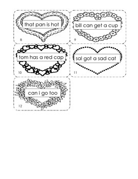 Valentine's Day Capitalization and Punctuation - Kindergarten Common Core