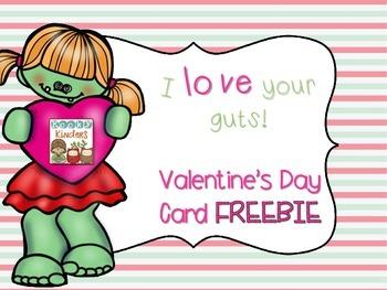 Valentine's Day Card FREEBIE
