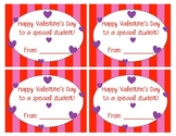Valentine's Day Card for Students (freebie)