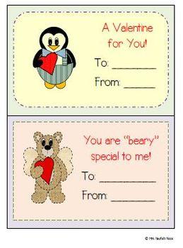 Valentine's Day Cards - Free Printables