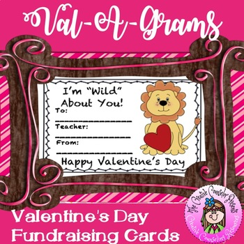 Valentine's Day Cards - Candy Grams - Val-A-Grams Fundrais