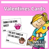 Valentines Day Cards - Cupcake Themed