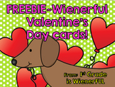 Valentine's Day Cards~ Dachshund Themed  FREEBIE