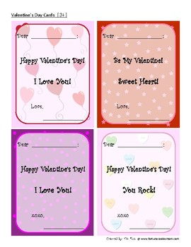 Valentines' Day Cards {English}