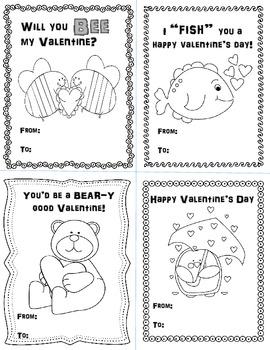 Valentine's Day Cards Freebie