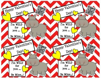 Valentine's Day Cards Mega Bundle using QR Codes